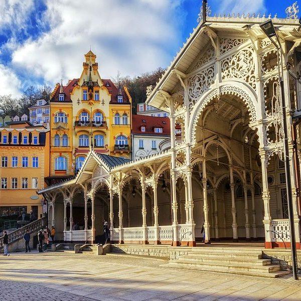 Karlovy Vary chocolate bar