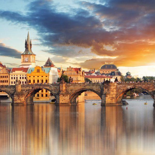 Praha chocalate bar
