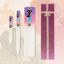 Glass nail file sets